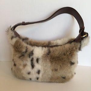 Bueno Faux Fur Shoulder Bag